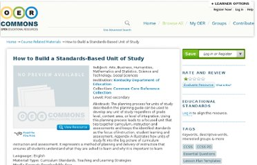 http://www.oercommons.org/courses/how-to-build-a-standards-based-unit-of-study
