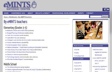 http://www.emints.org/inside-emints/webquests/by-emints-teachers/