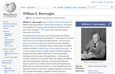 http://fr.wikipedia.org/wiki/William_S._Burroughs