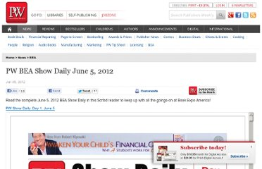 http://www.publishersweekly.com/pw/by-topic/industry-news/bea/article/52286-pw-bea-show-daily-june-5-2012.html