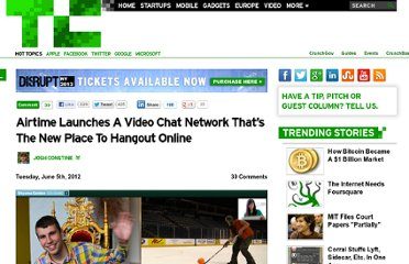 http://techcrunch.com/2012/06/05/airtime-video-chat/