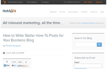 http://blog.hubspot.com/blog/tabid/6307/bid/33163/How-to-Write-Stellar-How-To-Posts-for-Your-Business-Blog.aspx