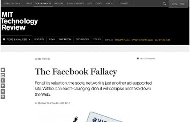 http://www.technologyreview.com/news/427972/the-facebook-fallacy/