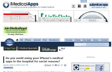 http://www.imedicalapps.com/2012/06/iphone-medical-apps-hospital-social/