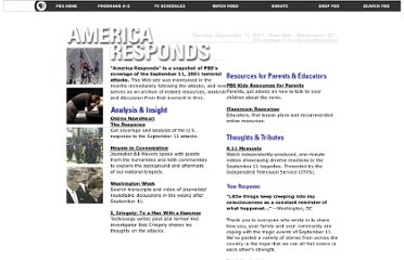 http://www.pbs.org/americaresponds/index.html