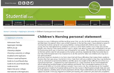 seattle university nursing personal statement University of washington nursing is a public nursing schools located in seattle washington that offers degree tracks like bsn personal statement requirements.