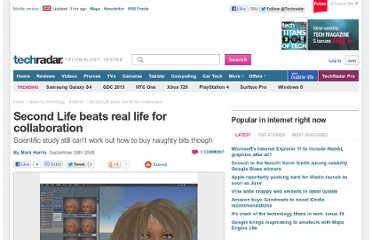 http://www.techradar.com/news/internet/second-life-beats-real-life-for-collaboration-471985