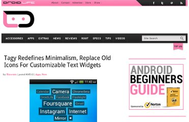 http://www.droid-life.com/2012/06/05/tagy-redefines-minimalism-replace-old-icons-for-customizable-text-widgets/