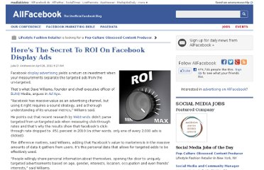 http://allfacebook.com/heres-the-secret-to-roi-on-facebook-display-ads_b40935
