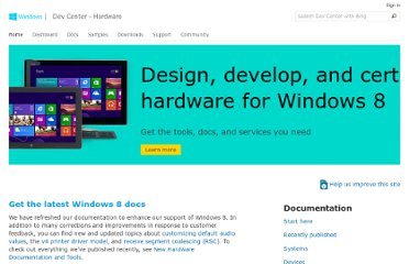 http://msdn.microsoft.com/en-us/windows/hardware/gg236587.aspx