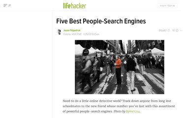 http://lifehacker.com/5138427/five-best-people+search-engines