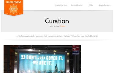 http://www.curatedcontent.com.au/2012/06/06/to-curate-or-not-curate-that-is-not-the-question/