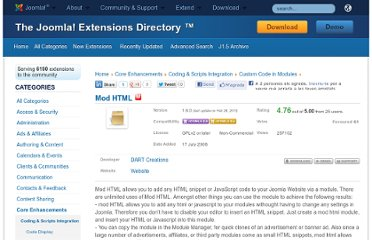 http://extensions.joomla.org/extensions/core-enhancements/coding-a-scripts-integration/custom-code-in-modules/5435