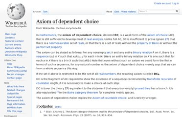 http://en.wikipedia.org/wiki/Axiom_of_dependent_choice