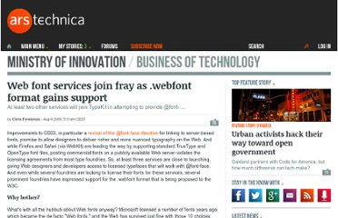 http://arstechnica.com/business/2009/08/web-font-services-join-fray-as-webfont-format-gains-support/