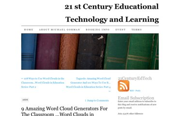 http://21centuryedtech.wordpress.com/2012/06/06/9-amazing-word-cloud-generators-for-the-classroom-word-clouds-in-education-series-part-3/