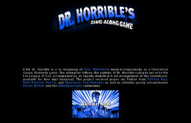http://www.doctoroctoroc.com/8-bit-dr-horrible/