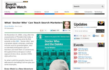 http://searchenginewatch.com/article/2182193/What-Doctor-Who-Can-Teach-Search-Marketers