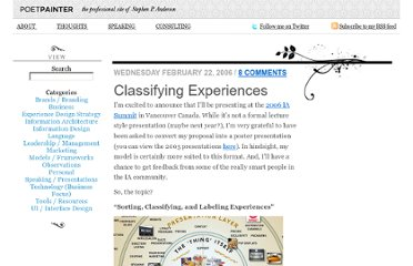 http://www.poetpainter.com/thoughts/article/classifying-experiences