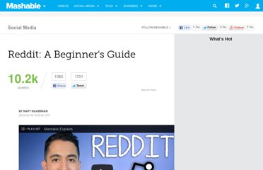 http://mashable.com/2012/06/06/reddit-for-beginners/