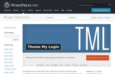 http://wordpress.org/extend/plugins/theme-my-login/