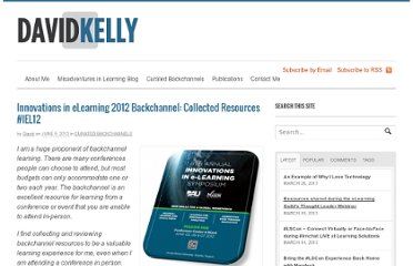 http://davidkelly.me/2012/06/innovations-in-elearning-2012-backchannel-collected-resources-iel12/