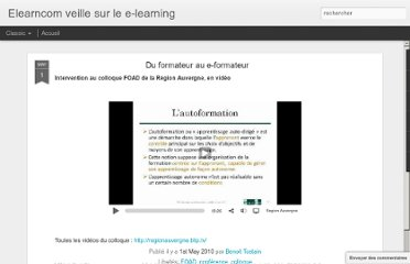 http://elearncom.blogspot.com/2010/05/colloque-foad-en-video.html