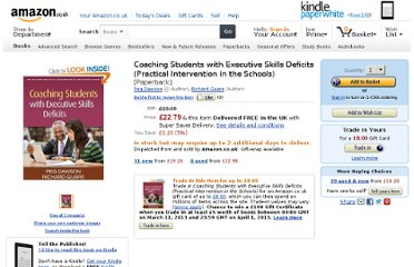 http://www.amazon.co.uk/Coaching-Students-Executive-Practical-Intervention/dp/1462503756