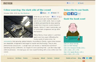 http://blog.microtask.com/2011/10/crime-sourcing-the-dark-side-of-the-crowd/