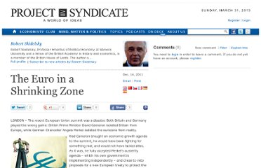http://www.project-syndicate.org/commentary/the-euro-in-a-shrinking-zone