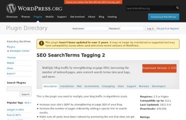 http://wordpress.org/extend/plugins/searchterms-tagging-2/