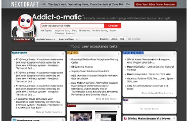 http://addictomatic.com/topic/user+acceptance+tests