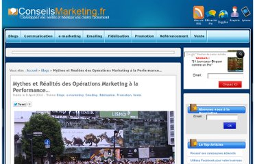 http://www.conseilsmarketing.com/emailing/mythes-et-realites-des-operations-marketing-a-la-performance