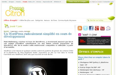 http://www.presse-citron.net/un-wordpress-radicalement-simplifie-en-cours-de-developpement