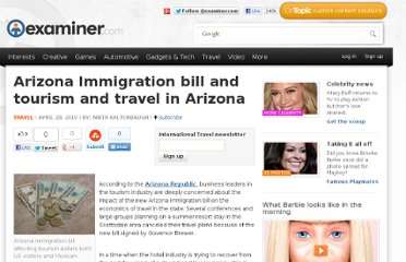 http://www.examiner.com/article/arizona-immigration-bill-and-tourism-and-travel-arizona