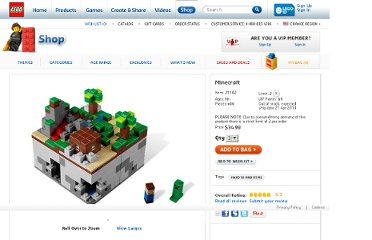 http://shop.lego.com/en-US/Minecraft-21102