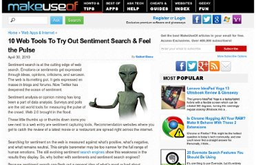 http://www.makeuseof.com/tag/10-web-tools-sentiment-search-feel-pulse/