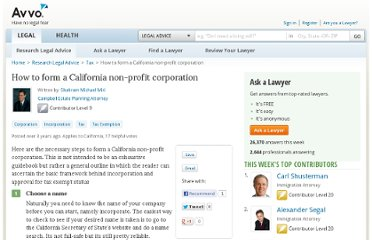 http://www.avvo.com/legal-guides/ugc/how-to-form-a-california-non-profit-corporation
