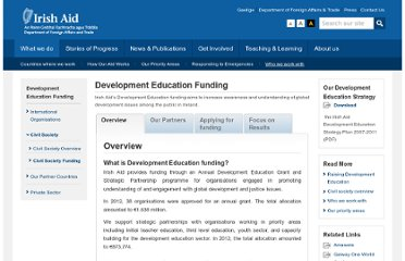 http://www.irishaid.gov.ie/grants_education.html