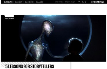 http://www.fastcocreate.com/1680902/5-lessons-for-storytellers-from-the-transmedia-world