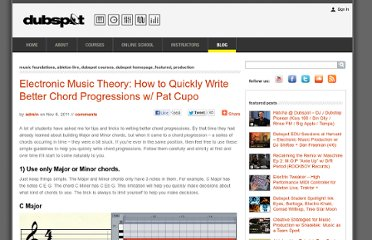 http://blog.dubspot.com/how-to-quickly-write-better-chord-progressions/
