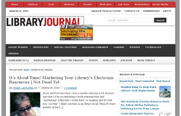 http://lj.libraryjournal.com/category/opinion/