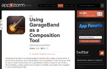 http://ipad.appstorm.net/how-to/music-how-to/using-garageband-as-a-composition-tool/