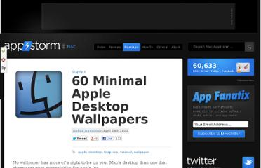 http://mac.appstorm.net/roundups/graphics-roundups/60-minimal-apple-desktop-wallpapers/