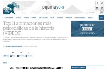 http://pijamasurf.com/2012/06/top-11-animaciones-psicodelicas-videos/