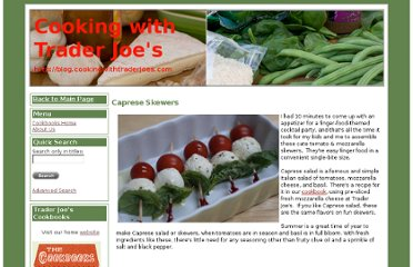 http://blog.cookingwithtraderjoes.com/2009/07/29/caprese-skewers.aspx