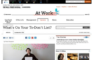 http://blogs.wsj.com/atwork/2012/06/06/whats-on-your-to-dont-list/