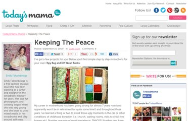 http://todaysmama.com/2009/09/keeping-the-peace/