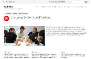 http://sunidee.com/how-we-work/customer-driven-specifications.html