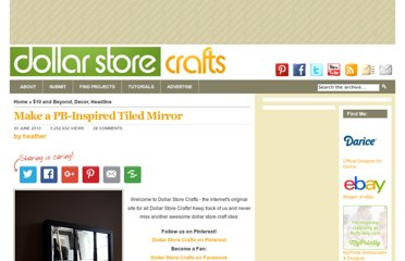 http://dollarstorecrafts.com/2010/06/make-a-pb-inspired-tiled-mirror/